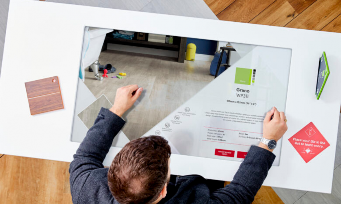 Place And Learn Digital Signage – Karndean Designflooring