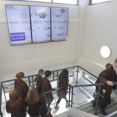 Oathall College Video Wall