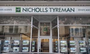 Digital Signage in Nicholls Tyreman Estate Agents Front Window