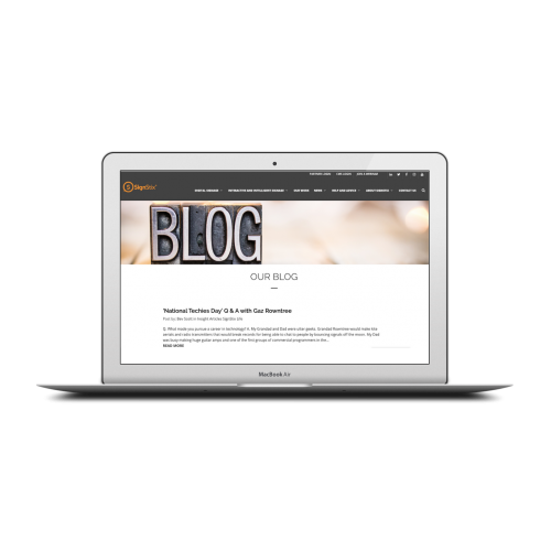 SignStix Mac and Blog Screen