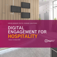 SignStix Digital Engagement for Hospitality Cover