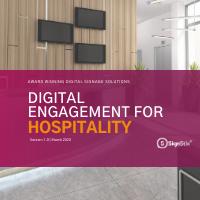 SignStix Digital Engagement for Hospitality Cover