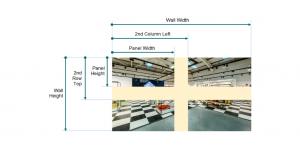 SignStix Video Wall Measurements