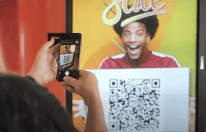 SignStix Digital Signage QR Code Trigger Technology