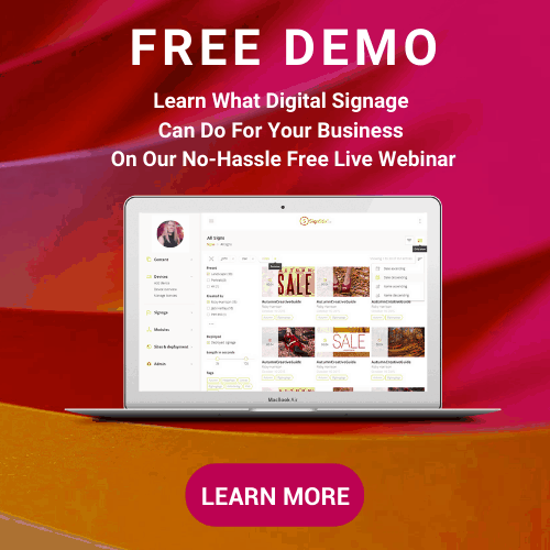 Free Demo Pop Up