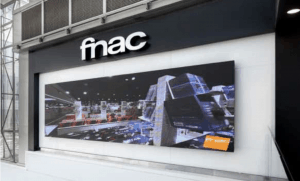 Fnac Video Wall Powered by SignStix